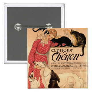 Clinique Cheron 15 Cm Square Badge