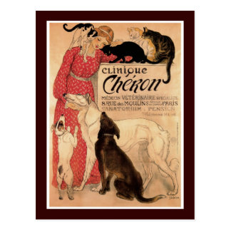 Clinique Cheron Postcard