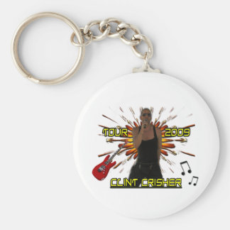 Clint Crisher 2009 Front/Back Key Ring