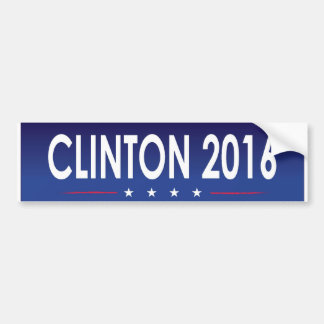 Clinton 2016 bumper sticker