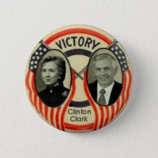 Clinton & Clark 6 Cm Round Badge
