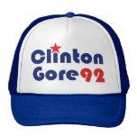 Clinton Gore 92 Retro Democrat Trucker Hat