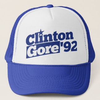 Clinton Gore 92 Trucker Hat