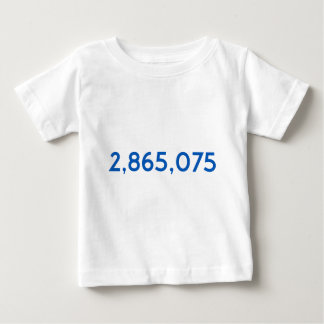 Clinton Got This Many More Votes Baby T-Shirt