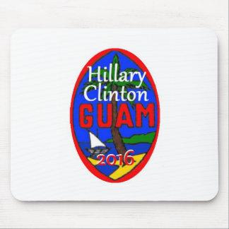 Clinton Guam 2016 Mouse Pads