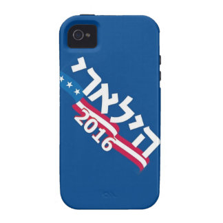 Clinton Hebrew 2016 iPhone 4/4S Covers