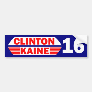 Clinton Kaine 2016 Bumper Sticker