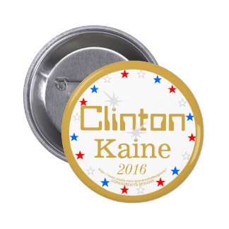 Clinton Kaine 2016 Strong Ticket 4 Strong America 6 Cm Round Badge