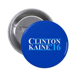 Clinton Kaine Campaign Logo 6 Cm Round Badge