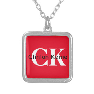 Clinton Kaine - CK 2016 Silver Plated Necklace