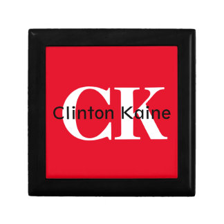 Clinton Kaine - CK 2016 Small Square Gift Box