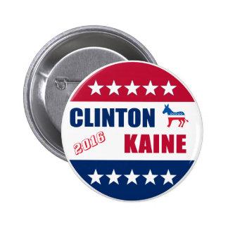 Clinton Kaine | Election 2016 6 Cm Round Badge