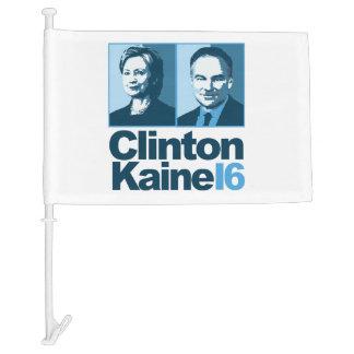 Clinton Kaine for America 2016 Car Flag