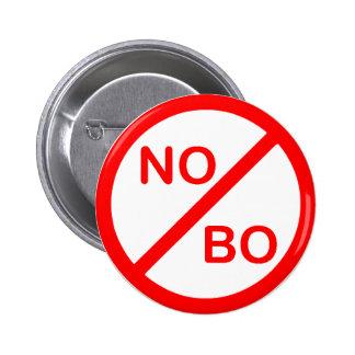Clinton Obama Vote No To BO Pin