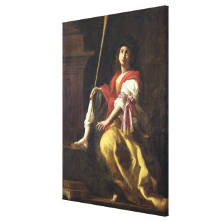 Clio, Muse of History, 1624 Gallery Wrap Canvas