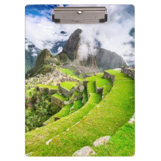 Clipboard Machu Picchu, Cusco - Peru