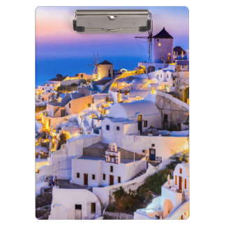 Clipboard Oia Santorini