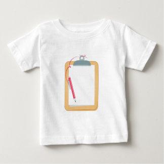 Clipboard & Pencil Baby T-Shirt
