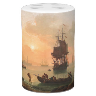 Clipper Sailing Ship Town Celebration Bath Set