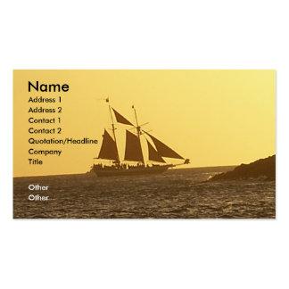 Clipper Ship Island Hopper Ocean Business Card