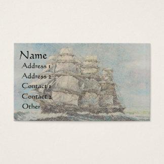 Clipper Ship Sailboats Ocean Boats Business Cards