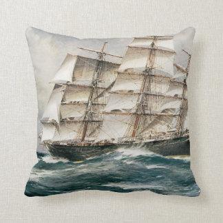 Clipper Ship Torrens Cushion