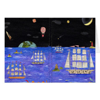 clipper ships card