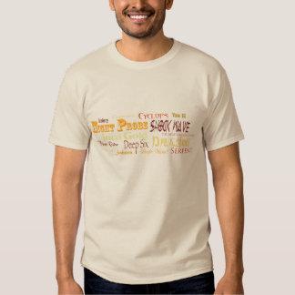 Clive Cussler Fan T-shirt