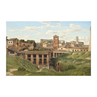 Cloaca Maxima, Rome by Christoffer Eckersberg Canvas Print