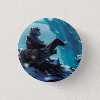 Cloaked 3 Cm Round Badge