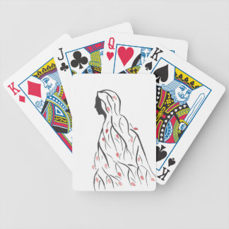 Cloaked In Autumn Poker Deck