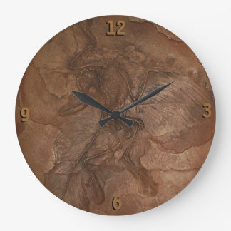 Clock - Archaeopteryx fossil