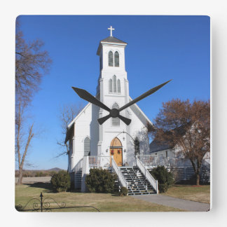 Clock Church God Landscape White Time Country City
