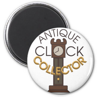 Clock Collector 6 Cm Round Magnet