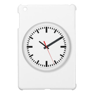 Clock Displaying Time Cover For The iPad Mini