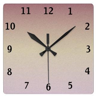 Clock Face Template Seagull Medium Font Lavender