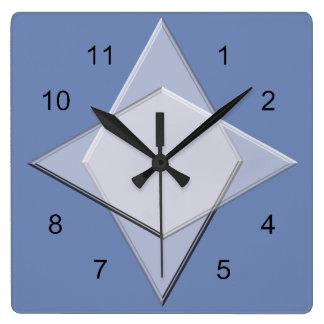Clock - Geometric Pattern