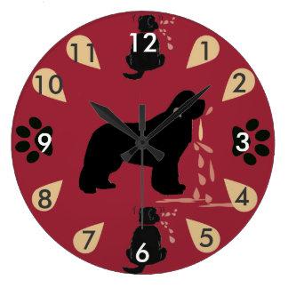 Clock ~ Newfoundland Drool