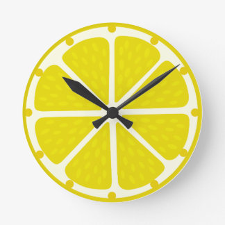 Clock of lemon