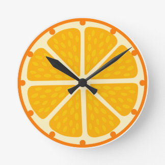 Clock of orange