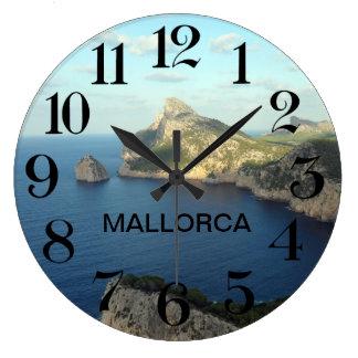clock of wall Cabo de Formentor in Majorca