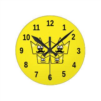 Clock of Wall - Gay Family Men