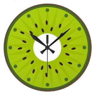 Clock of wall kiwi