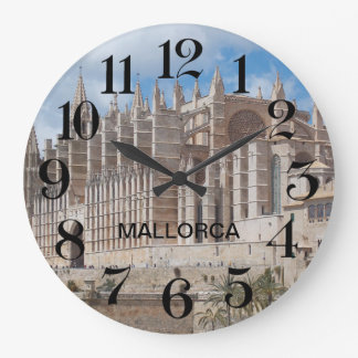 clock of wall of the Cathedral of Majorca