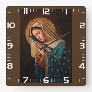 """Clock of wall """"Ours Lady """""""