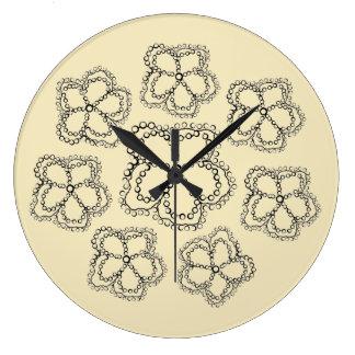 Clock round custom