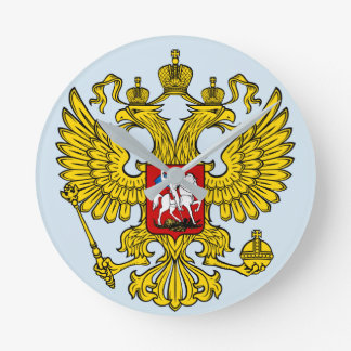 CLOCK Russia coat of arms