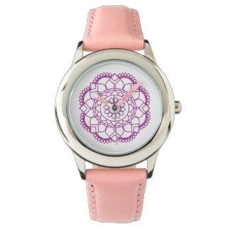 Clock Sends it Wrist Watch