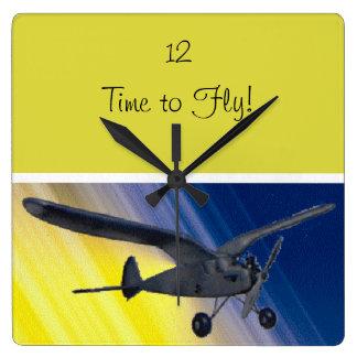 Clock - Spook - model airplane
