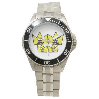 Clock Stainless Steel Bracelet - Gay Family Watch